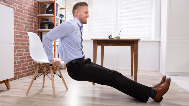 Use Your Chair for a Home Workout