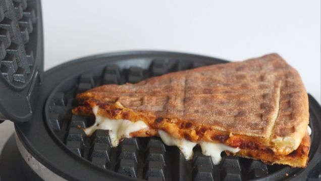You Should Waffle Two Pieces of Pizza Together